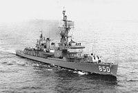 USS Joseph P Kennedy (DD-850) underway.jpg
