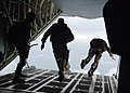 US Navy 071019-N-2294S-042 Explosive Ordnance Disposal Mobile Unit (EODMU) 2 Sailors perform freefall jumps from a C-130 Hercules.jpg
