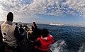 US Navy 100122-N-7508R-029 A rigid-hull inflatable boat transports Sailors from the Killick Coast Guard Station to USS Gunston Hall (LSD 44).jpg