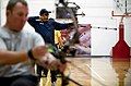 US Navy 100511-N-6932B-141 Chief Electrician's Mate Peter Allen Johns practices for the archery competition at the inaugural Warrior Games in Colorado Springs, Colo.jpg
