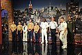 US Navy 110525-N-GO025-011 Sailors, Marines and Coast Guardsmen rehearse for the Late Show top ten as part of Fleet Week 2011. Fleet Week has been.jpg