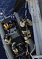 US Navy 111116-N-VH839-128 Sailors climb a ladder during a VBSS drill.jpg