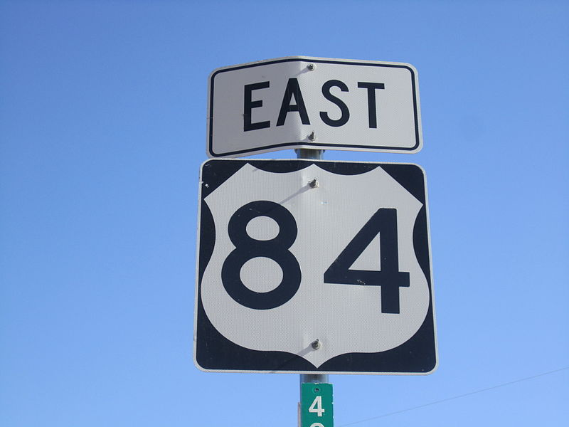 File:US Route 84 sign near Snyder, TX IMG 1760.JPG