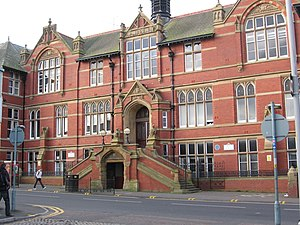 University of Central Lancashire - The Harris Building, built in 1897