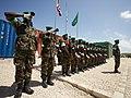 Ugandan AMISOM Guard of Honour for Burundi Defence Minister (6243004831).jpg