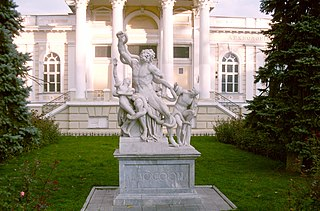 Laocoön sculpture group in Odessa