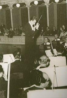 Guido Cantelli Italian conductor