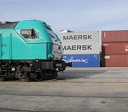 Una carrera para conmemorar el inicio de la línea férrea más larga del mundo - Madrid-Yiwu 01.jpg