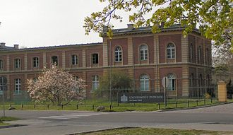 University of Potsdam - The New Palace campus of the University of Potsdam