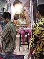 Unknown starlet at Erotica Los Angeles 2001 11.jpg