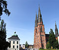 Uppsala cathedral with Gustavianum.jpg