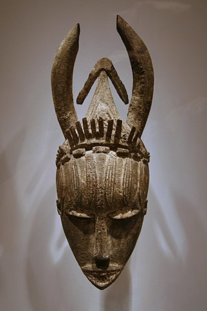Urhobo people - An Urhobo mask