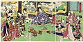 Utagawa Kunisada II - Felicitations to Genji on the Occasion of the Shichigosan Celebration.jpg