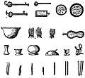 Utensils for Ceremonies - Page 88 - Chapter VIII - History of India Vol 1 (1906).jpg