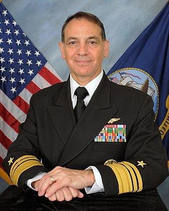 Naval Inspector General - Image: VADM Shelanski 2015