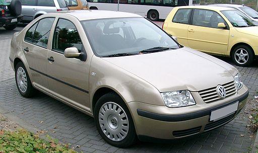 VW Bora front 20071012