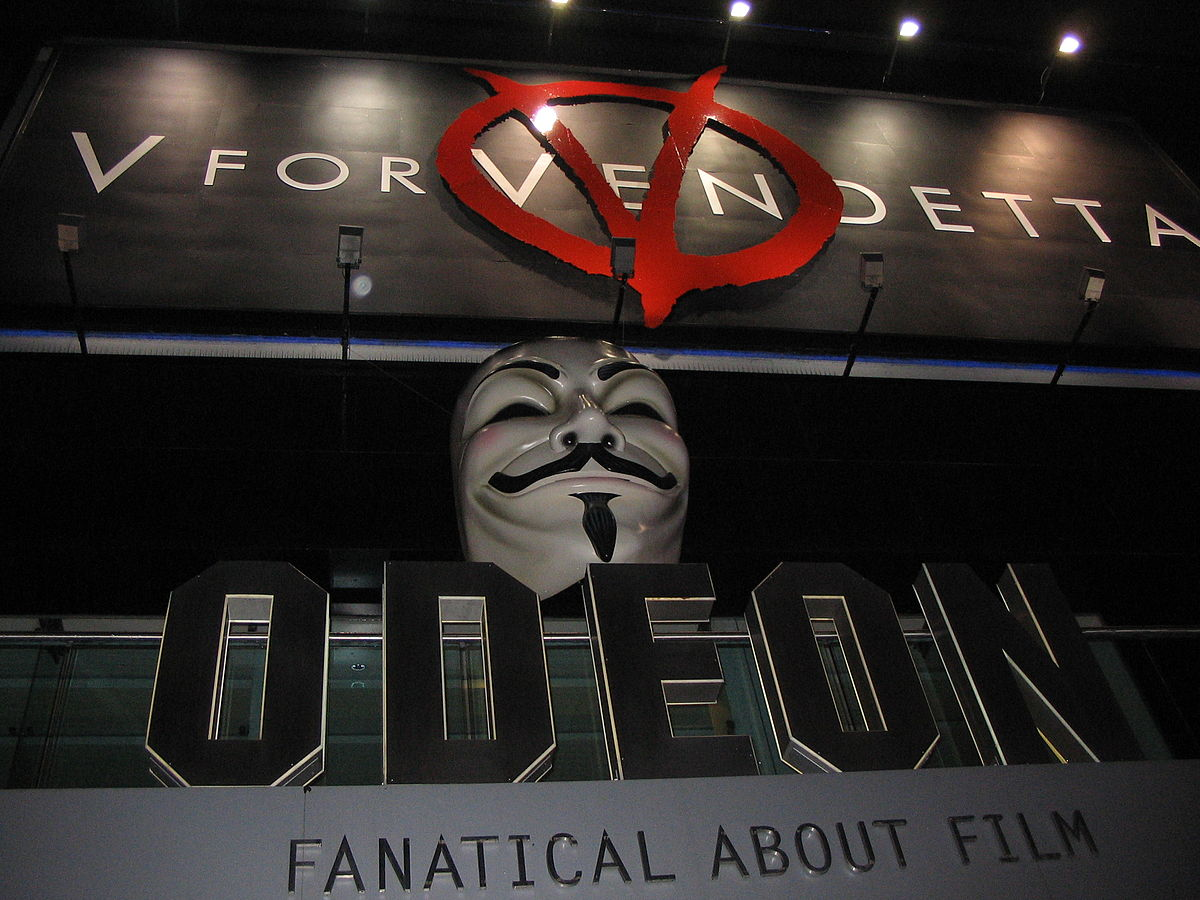 eb8b9cc30d446 V for Vendetta (film) - Wikiquote