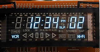 Vacuum fluorescent display