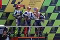 Valentino Rossi, Jorge Lorenzo and Andrea Dovizioso 2010 Le Mans.jpg