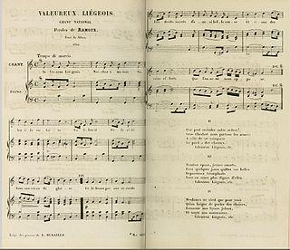Valeureux Liégeois song