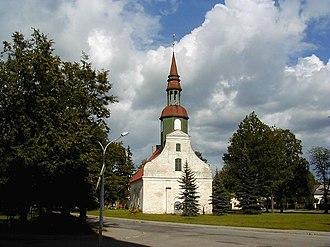 Valka - Lugaži Lutheran Church in Valka.