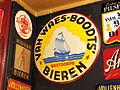 Van Waes-Boodts Bieren Westdorpe enamel advertising sign.JPG