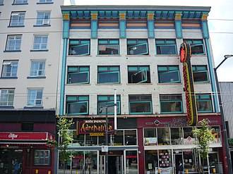 Granville Street - SameSun Backpackers' Lodge originally Glenaird Hotel