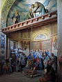 Varallo, Sacra monte, Cappella 15-Healing of the Lame 03.JPG