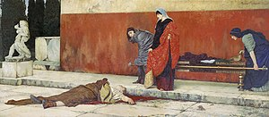 Vasily Sergeyevich Smirnov (painter) - The Death of Nero