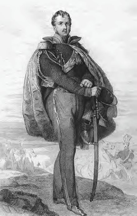 Poniatowski loyally served Napoleon, particularly during the campaign in Russia, where his corps fought with distinction at Smolensk and Borodino. Vauchelet-Jozef Antoni Poniatowski.jpg