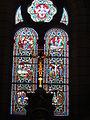 Veigné (Indre-et-Loire) église, vitrail 01.JPG