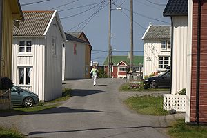 Smøla - The fishing village of Veiholmen