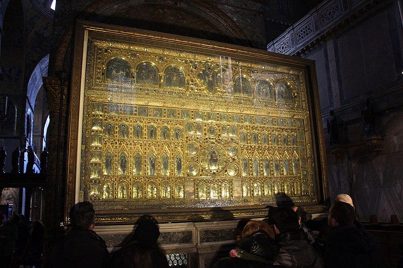 File venezia pala d 39 oro veduta 01 jpg wikimedia commons for Pala de oro