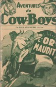 Verchères - Aventures de cow-boys No 1 - L'or maudit, 1948.djvu