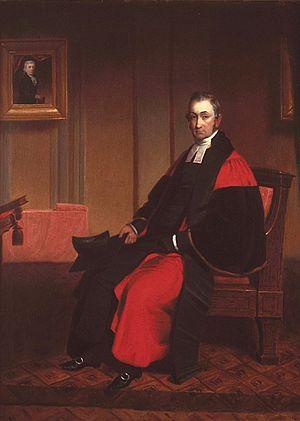 John Bethune (principal) - Image: Very Rev. John Bethune (1791 1872), of Montreal