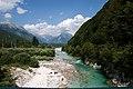 Vicino Bovec - Un fiume di chiare e fresche acque - panoramio.jpg