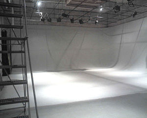 Sound stage - An empty sound stage.