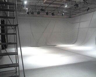Sound stage - An empty sound stage.