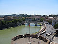 View from Castel Sant'Angelo 1 (15278991219).jpg
