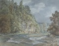 View near Koknese with river in 1833 v2.tif