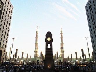Al-Masjid an-Nabawi - View of Masjid-e-Nabawi Gate 21, 22