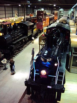 Saint-Constant, Quebec - Canadian Railway Museum (located in Saint-Constant)
