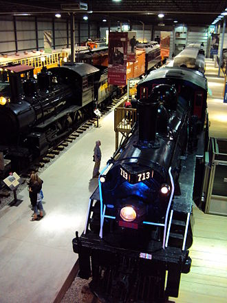 Saint-Constant, Quebec - Canadian Railway Museum (located in Saint-Constant)