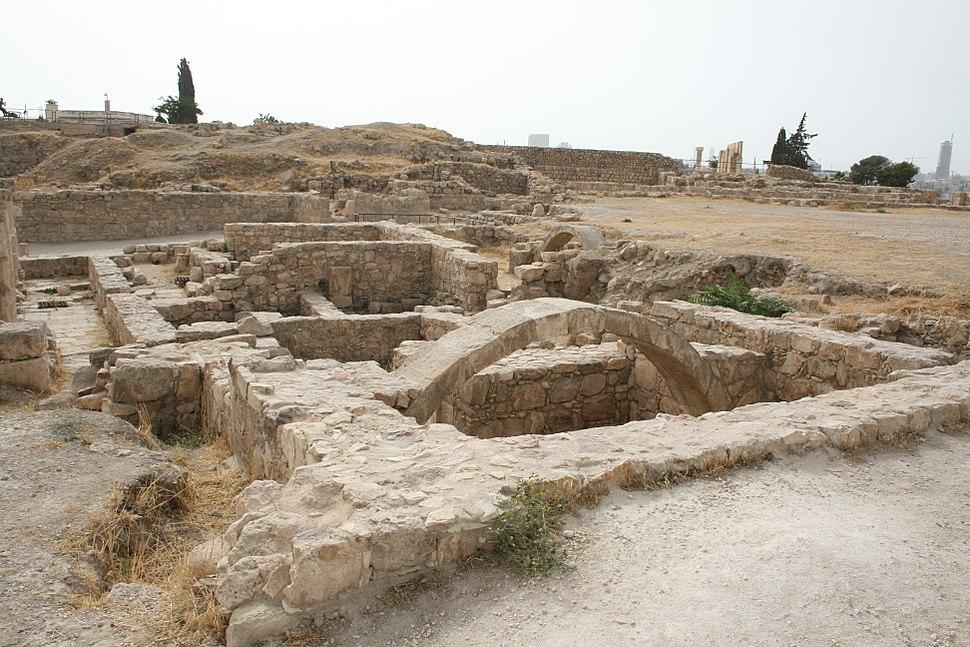 View of the Amman Citadel, Jordan2