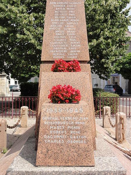 Vignot (Meuse) monument aux morts