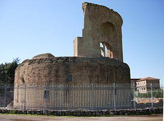 Mausoleum of Helena - The Mausoleum of Helena.