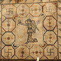 Villa Armira - Central Floor Mosaic in the National Historic Museum Sofia PD 2012 21.JPG