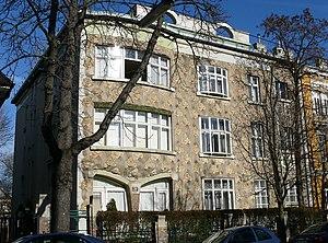 1901 in architecture - Image: Villa Langer Plecnik Beckgasse 30