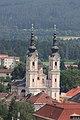 Villach - Heilgigenkreuzkirche vom Stadtparrturm aus gesehen.JPG