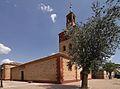 Villafranca de los Caballeros, Iglesia de Nuestra Señora de la Asunción, lateral.jpg
